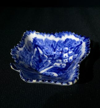 Bow leaf shaped pickle dish, C. 1765-0