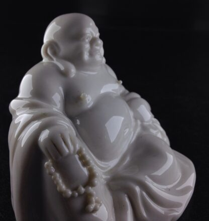 Chinese porcelain seated Buddha, 20th century -8921