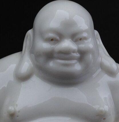 Chinese porcelain seated Buddha, 20th century -8922
