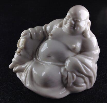 Chinese porcelain seated Buddha, 20th century -0