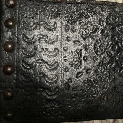 Pair of Spanish elm chairs, mid 17th century -13611
