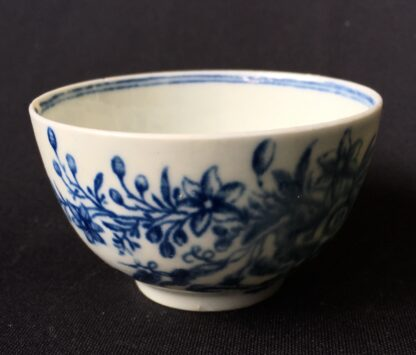 Worcester tea bowl, small size, three flowers pattern c.1765 -19892