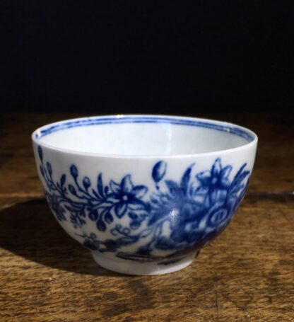 Worcester tea bowl, small size, three flowers pattern c.1765 -22229