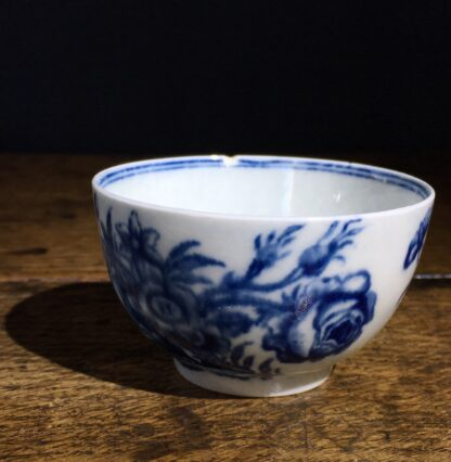 Worcester tea bowl, small size, three flowers pattern c.1765 -22230