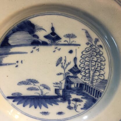 English delft plate, probably Liverpool, C. 1760 -29017