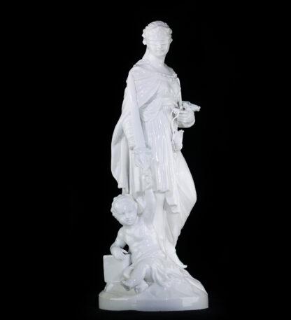 Berlin figure of Justice 'GERECHTIGKEIT' , Circa 1795 -0