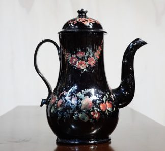 Jackfield Type coffee pot