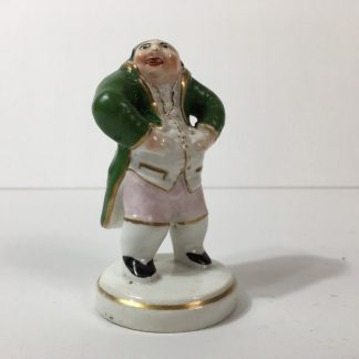 Staffordshire pottery figure - The Laughing Philosopher c.1820-0