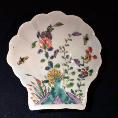 Dr Wall Worcester shell pickle dish