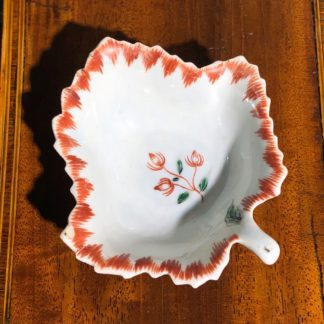 William Reid Liverpool Porcelain pickle dish circa 1756-61