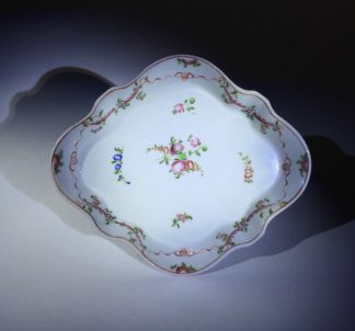 Newhall teapot stand, pattern 195, c. 1795 -0