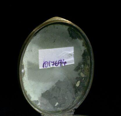 Birmingham enamel box, Kent Volunteers review by George III, Maidstone, dated 1st August 1799-8664