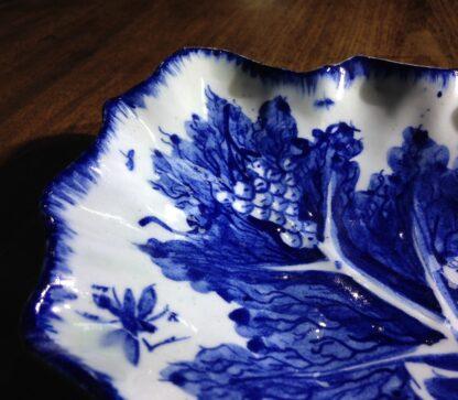 Bow leaf shape dish, fruiting vine pattern, c. 1765 -8964