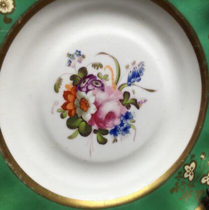 Samuel Alcock plate, flowers, c. 1820-14817