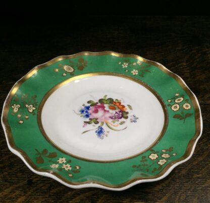 Samuel Alcock plate, flowers, c. 1820-14822