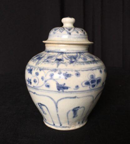 Hoi An shipwreck covered jar, Vietnamese, 15th century-20372