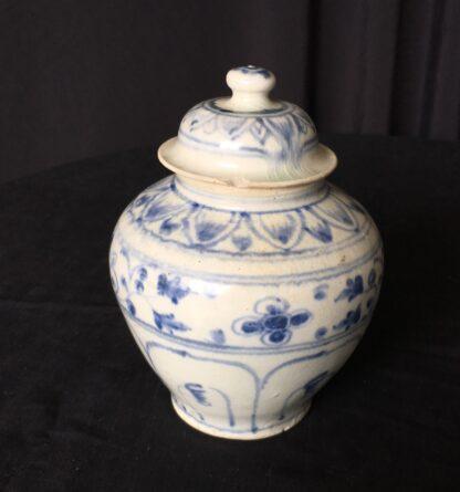 Hoi An shipwreck covered jar, Vietnamese, 15th century-20369