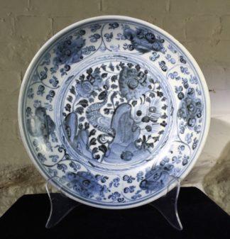 Ming Dynasty Phoenix dish, 16th - early 17th century-0