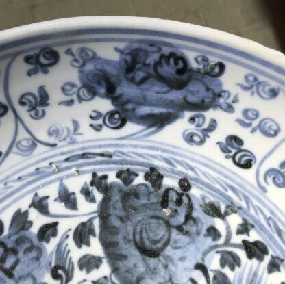Ming Dynasty Phoenix dish, 16th - early 17th century-9281