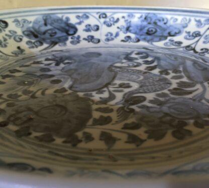 Ming Dynasty Phoenix dish, 16th - early 17th century-9283