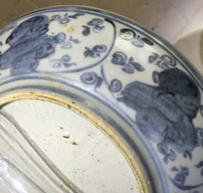 Ming Dynasty Phoenix dish, 16th - early 17th century-9285