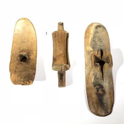 Carved cedar head rest, Old Kingdom, 2640-2134 BC -31018