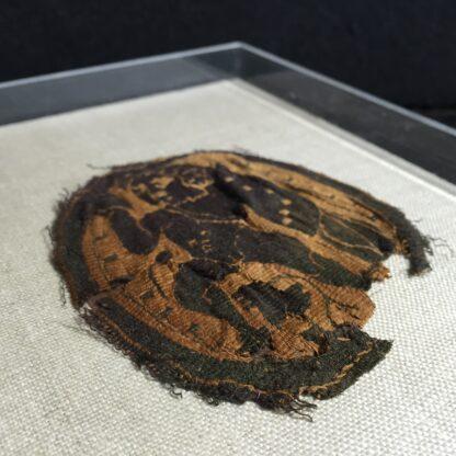 Coptic woven fragment, Angel , 5th-6th century AD-10635