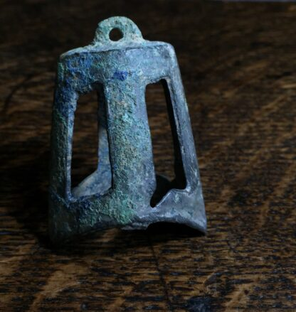 Chinese bronze bell, 206BC - 221AD-9858