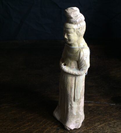 Tang dynasty glazed figure of a Lady, 8th century AD-9887