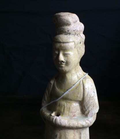 Tang dynasty glazed figure of a Lady, 8th century AD-9890