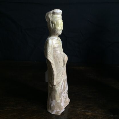 Tang dynasty glazed figure of a Lady, 8th century AD-9901