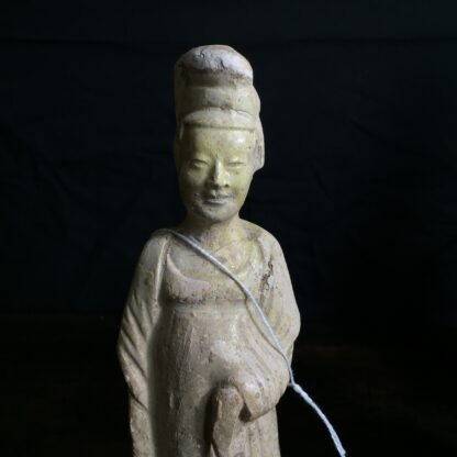 Tang dynasty glazed figure of a Lady, 8th century AD-9903