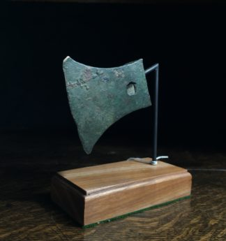 Han bronze axe head, 206 BC - 221 AD-0