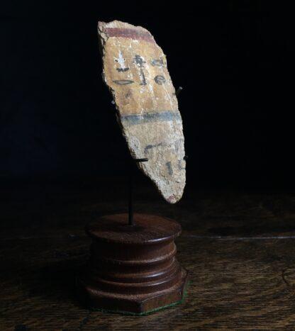 Egyptian sarcophagus fragment, hieroglyphics, 22nd-24th dynasty 945-715 BC -0