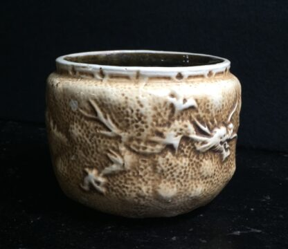 Bretby pottery vase, dragons in clouds, c.1915-11201