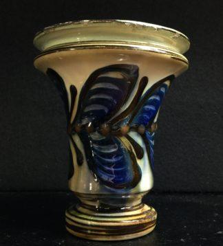 Danish Art Pottery vase, H A Kahler, circa 1925 -0