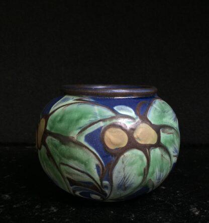 Danish Art Pottery vase, H. A. Kahler, circa 1925 -11283