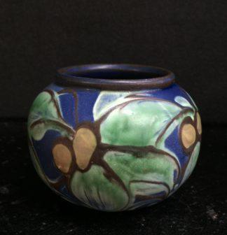 Danish Art Pottery vase, H. A. Kahler, circa 1925 -0