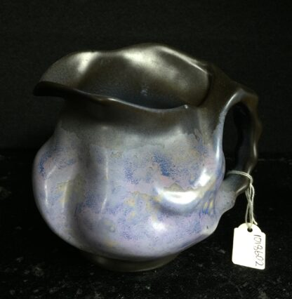 Goedewaagen jug with lavender glaze, fantastic nouveau shape, c. 1935-11322