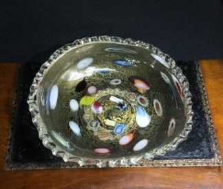 Italian Murano glass bowl -0
