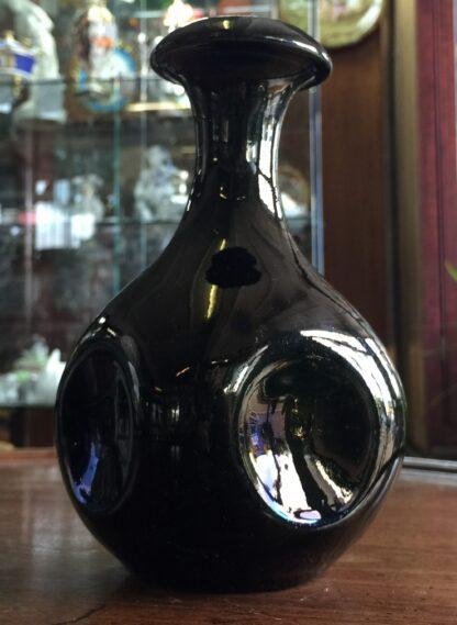 Dunmore Pottery (Scotland) vase with 'smoke' glaze, Dresser influenced, c. 1890-1900-11367