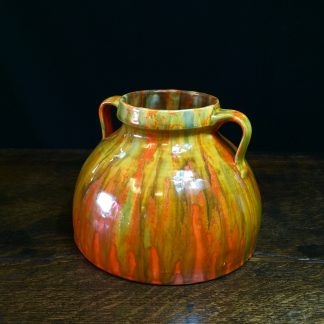 Barum ware vase, by Brannam of Barnstaple, c. 1920-0