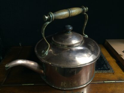 Large copper kettle, probably for a ship, 19th century -10854