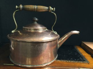 Large copper kettle, probably for a ship, 19th century -0