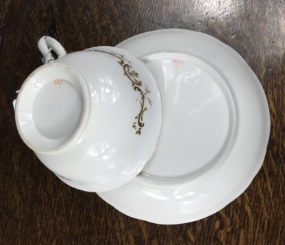 Quality Minton cup & saucer, flowers pattern 3102, c. 1835-12216