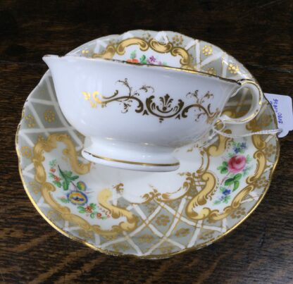 Quality Minton cup & saucer, flowers pattern 3102, c. 1835-12218