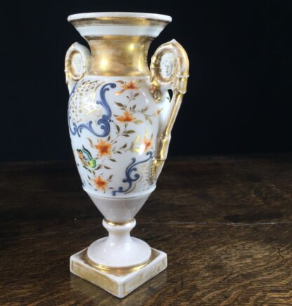 French vase, classical heads & butterflies, c.1830-11840
