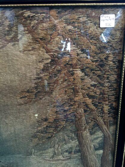 Japanese scenic tapestry, circa 1900 -12451