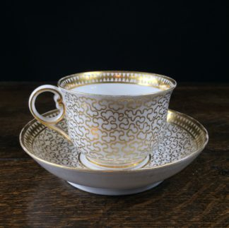 Chamberlains Worcester cup & saucer, c.1815 -0
