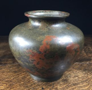 Chinese bronze vase with 'Antique' patinated surface, 19th century-0